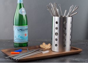 Family set stainless steel straws