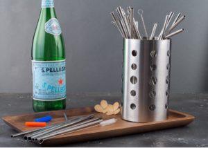 Family set stainless steel straws