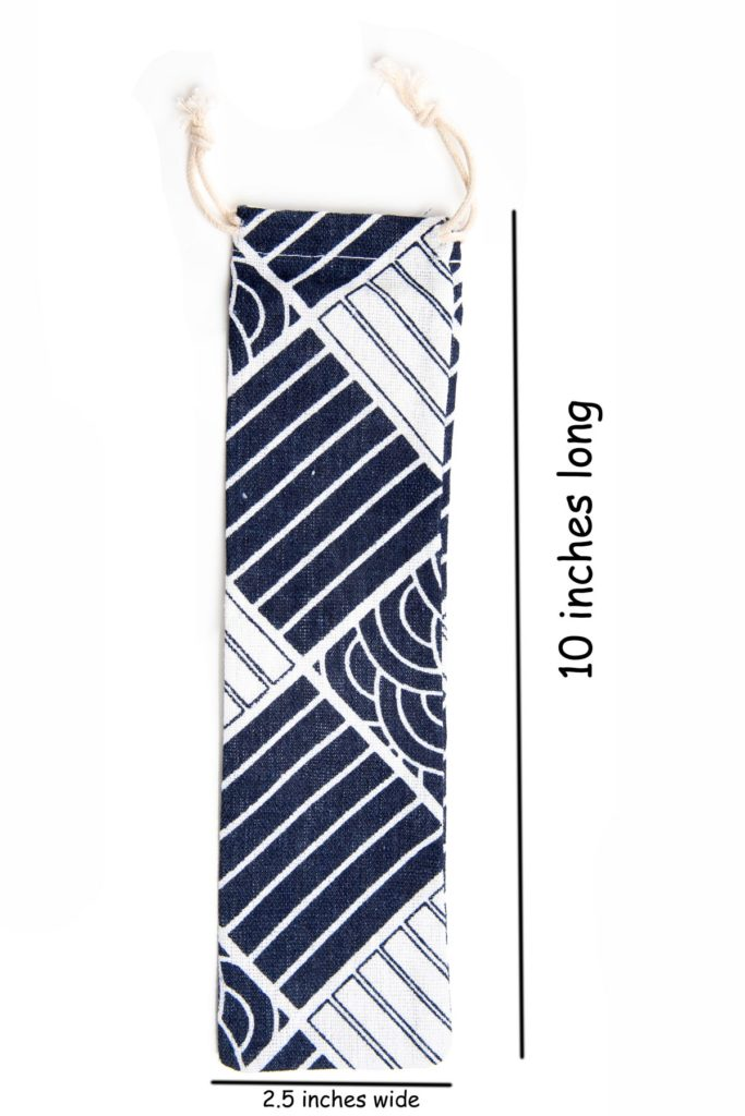 Bag for Stainless Steel Straws