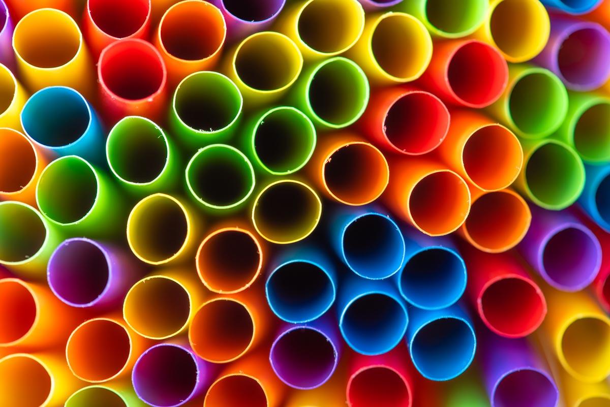 One-Use Plastic Straw