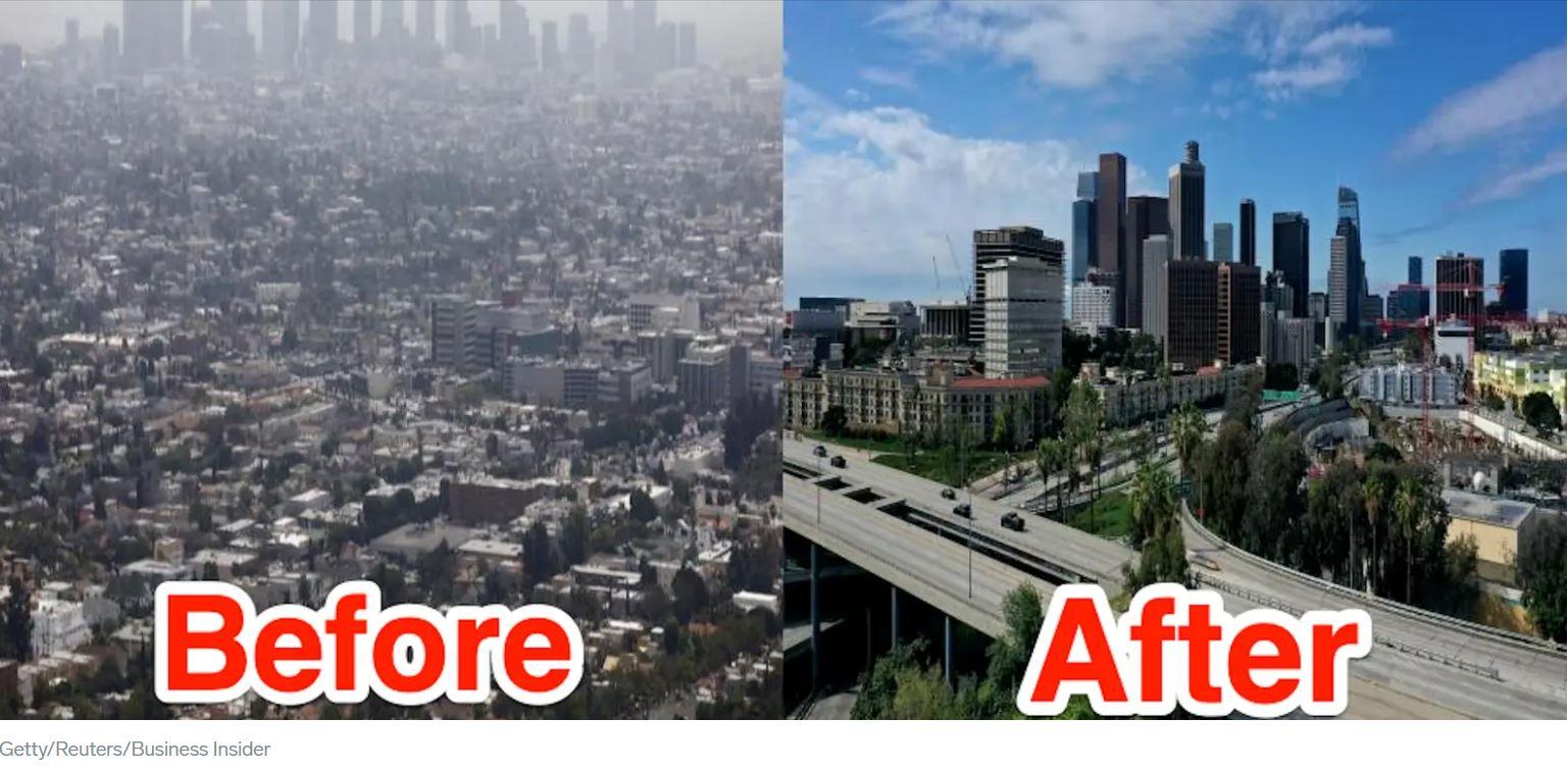 Less smog in LA