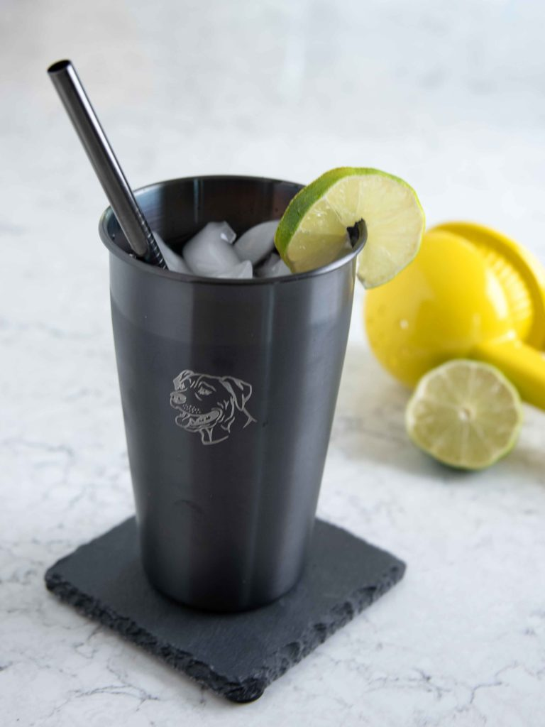 Black Stainless Steel Cup Set