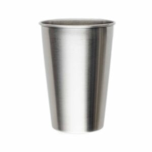 Silver Stainless Steel Cup