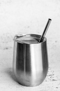 6.25inch straw with an 8mm diameter