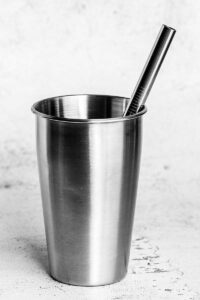8.5 inch jumbo stainless steel straw
