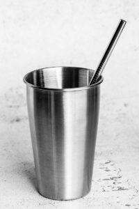 8.5 inch 8mm stainless steel straw
