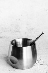 Short Cocktail Stainless Steel Straw
