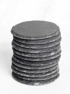 Round Slate Coaster Wholesale