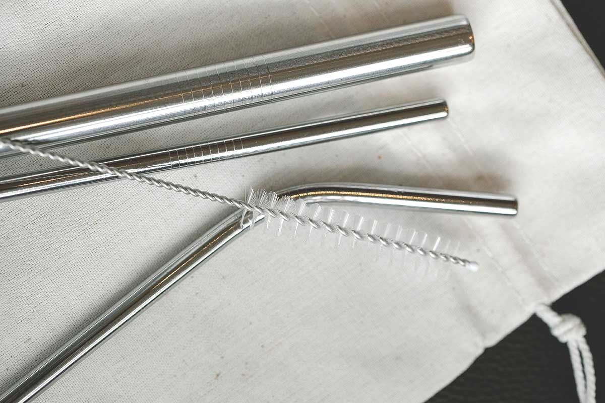 Cleaning Stainless Steel Straws