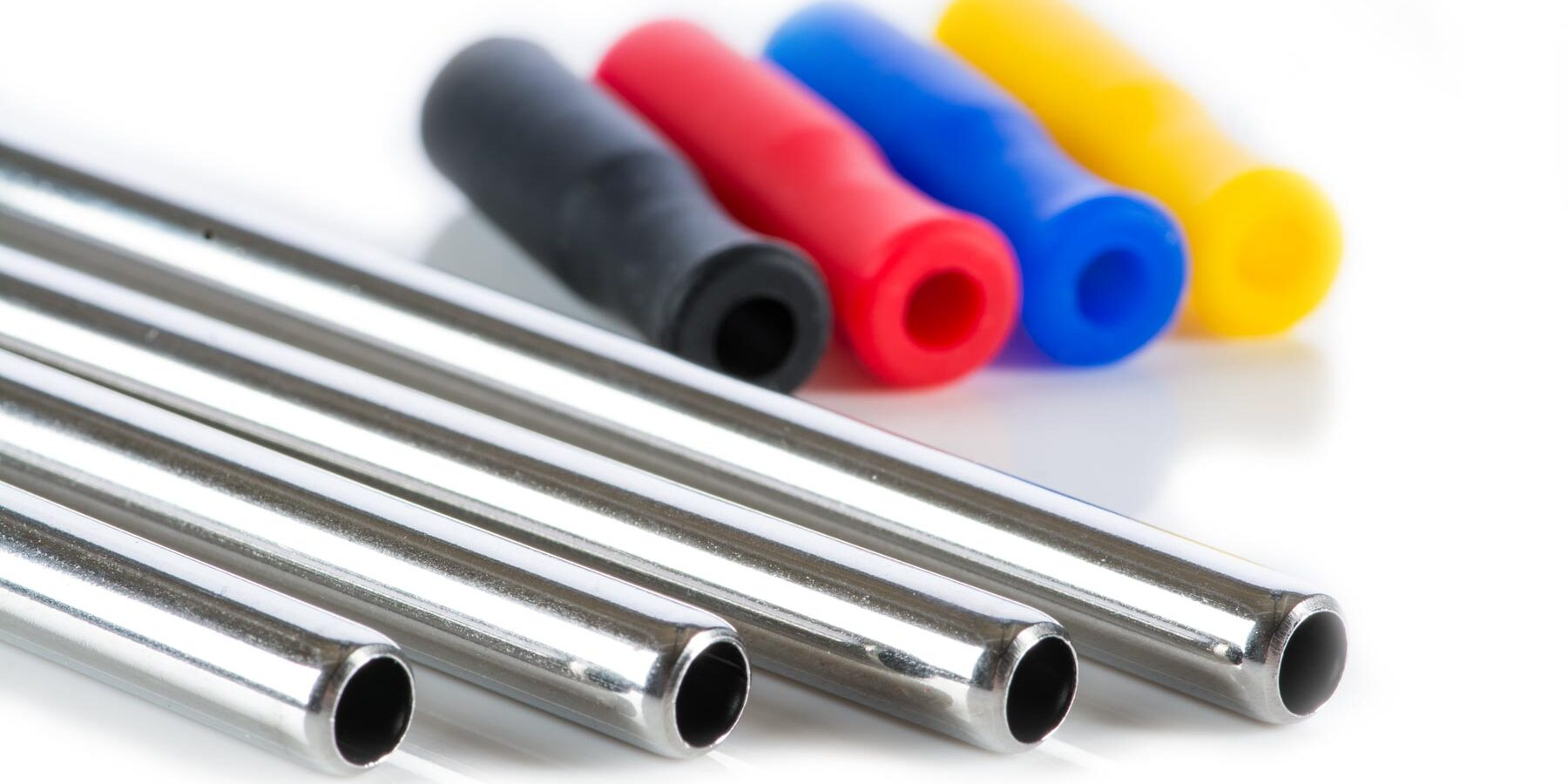 126mm*6mm Stainless Steel Drinking Straw